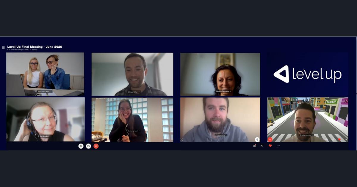 Level Up final meeting online
