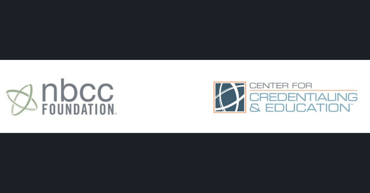 NBCC Foundation CCE logos